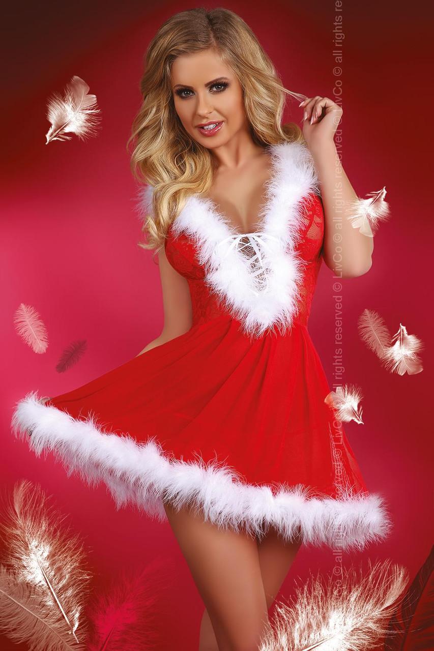 Новогодний костюм  Снегурочки Livia corsetti Snowflake