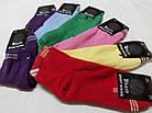 Носки женские махровые х/б SPORT A Турция 36-39р. ассорти цветное НЖЗ-01319, фото 5