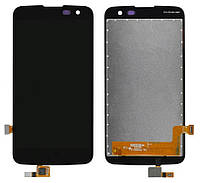 Дисплейный модуль для LG K4 K120E, K121, K130E (Black) Original