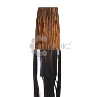 Кисть из волоса колонка плоская GK23R №6