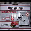 Мясорубка электрическая Grunhelm AMG 20, фото 2