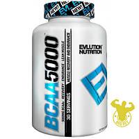 Аминокислоты BCAA 5000 от Evlution Nutrition 240 капсул