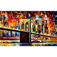 "Картина по номерам ""Бруклинский мост"" в коробке"