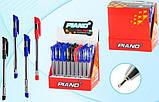 """Ручка кулькова масляна PIANO """"Classic"""" синя, фото 3"""