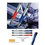 """Ручка кулькова масляна PIANO """"Classic"""" синя, фото 2"""