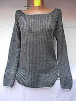 Женский свитер с блёстками