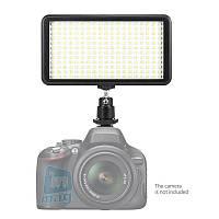 Биколорный накамерный светодиодный свет LED-228, 3200K-6000K.