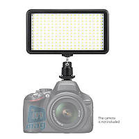 Биколорный накамерне світлодіодний світло LED-228, 3200K-6000K.