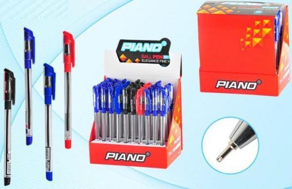 """Ручка шариковая масляная PIANO """"Classic"""" черная"""