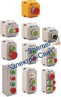 Стационарные кнопочные посты управления, кнопки управления, пыле-масло-водозащищенные, IP65, IP67