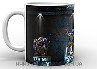 Кружка Старкрафт Terran, Protos, Zero