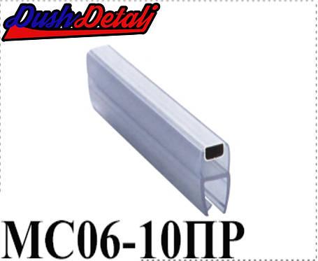 Магниты для  дверей душевой кабины, прямой ( MC06ПР )  Стык магнитный, силиконовый, фото 2