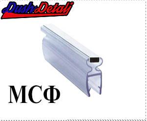 Магниты для  дверей душевой кабины ф-ОБРАЗНЫЙ  ( MCФ06Е )  Стык магнитный, силиконовый., фото 2