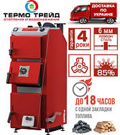 Котел Defro Optima Komfort (Дефро Оптима Комфорт) 12 кВт - с механическим регулятором тяги