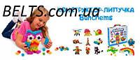 Подарок для детей. Конструктор Bunchems 400 предметов (Пушистый шарик), фото 1