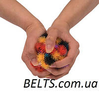 "Конструктор-липучка для ребенка "" Вязкий пушистый шарик "" (на 600 предметов Банчемс), фото 1"