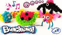 Увлекательный конструктор - липучка Bunchems 600 предметов (развивающийся конструктор игрушка для детей Банчем