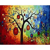 Картина по номерам Денежное дерево в коробке