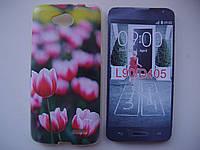 Чехол накладка бампер для LG L90 D405