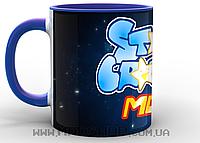 Кружка Старкрафт starcraft-mod синяя