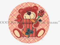 Вафельные картинки — Медвежата 14,5 см - №1