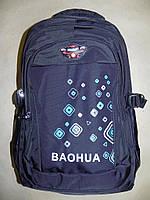 Рюкзак городской Baohua черный, фото 1