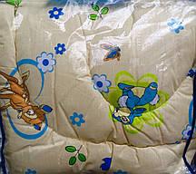 Одеяло закрытое овечья шерсть 110*145