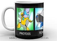 Кружка Старкрафт Protos, Terran, Zero