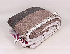 Полуторное одеяло бязь/шерсть 016