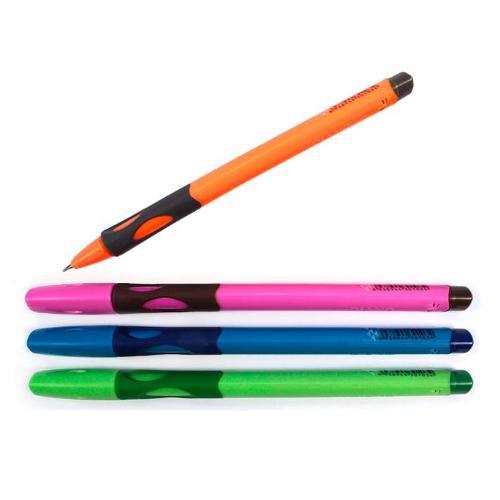 Ручка-тренажер для правшів кулькова масляна PIANO синя