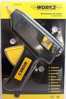 Клеевой пистолет Work's W80140 40W со стержнями