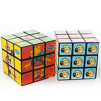 Кубик Рубика 522-525 (360шт) 2 вида (DSM), в кульке, 5,5-5,5-5,5см