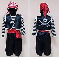 Новогодний костюм Пирата или Пиратки для девочек и мальчиков 3-13 лет S784