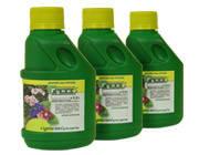 Органические удобрения для цветов «Гумисол-супер» с биогенными элементами для 8 видов цветочных культур 0,2 л