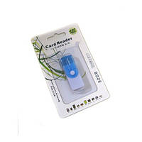 USB кардридер microSDHC card reader 4 в 1