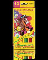 """Карандаши цветные """"MARCO"""" Пегашка (12 цветов)1010-12CB"""