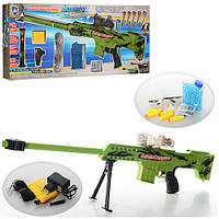 Автомат водяные пули и  мягкими пулями - присосками  661-1