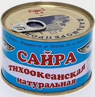 """Сайра """"Дальморепродукт"""" натуральная 245г"""