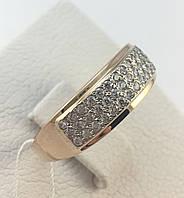 Кольцо золотое  585*