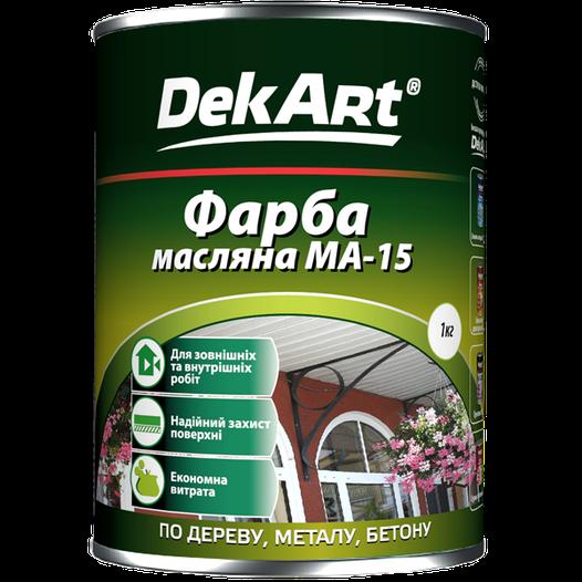 Краска масляная МА -15 DekArt (светло-голубая) 1 кг