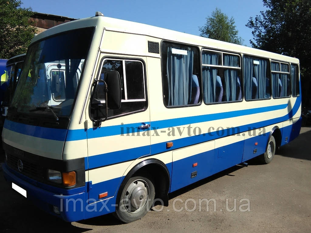 Капитальный ремонт кузова автобуса Эталон турист