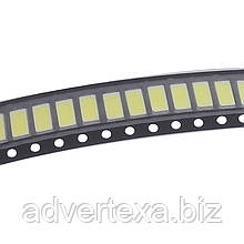 Світлодіод холодний білий SMD 0.5 Вт 3.2-3.4 У 50-55lm 6000-6500К