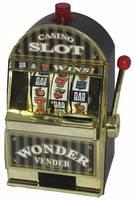 """Игровой автомат """"Однорукий бандит"""" 13,5х10х20см"""