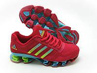 Кроссовки женские Adidas Bounce красные