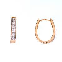 [20/3мм] Серьги-конго Gold