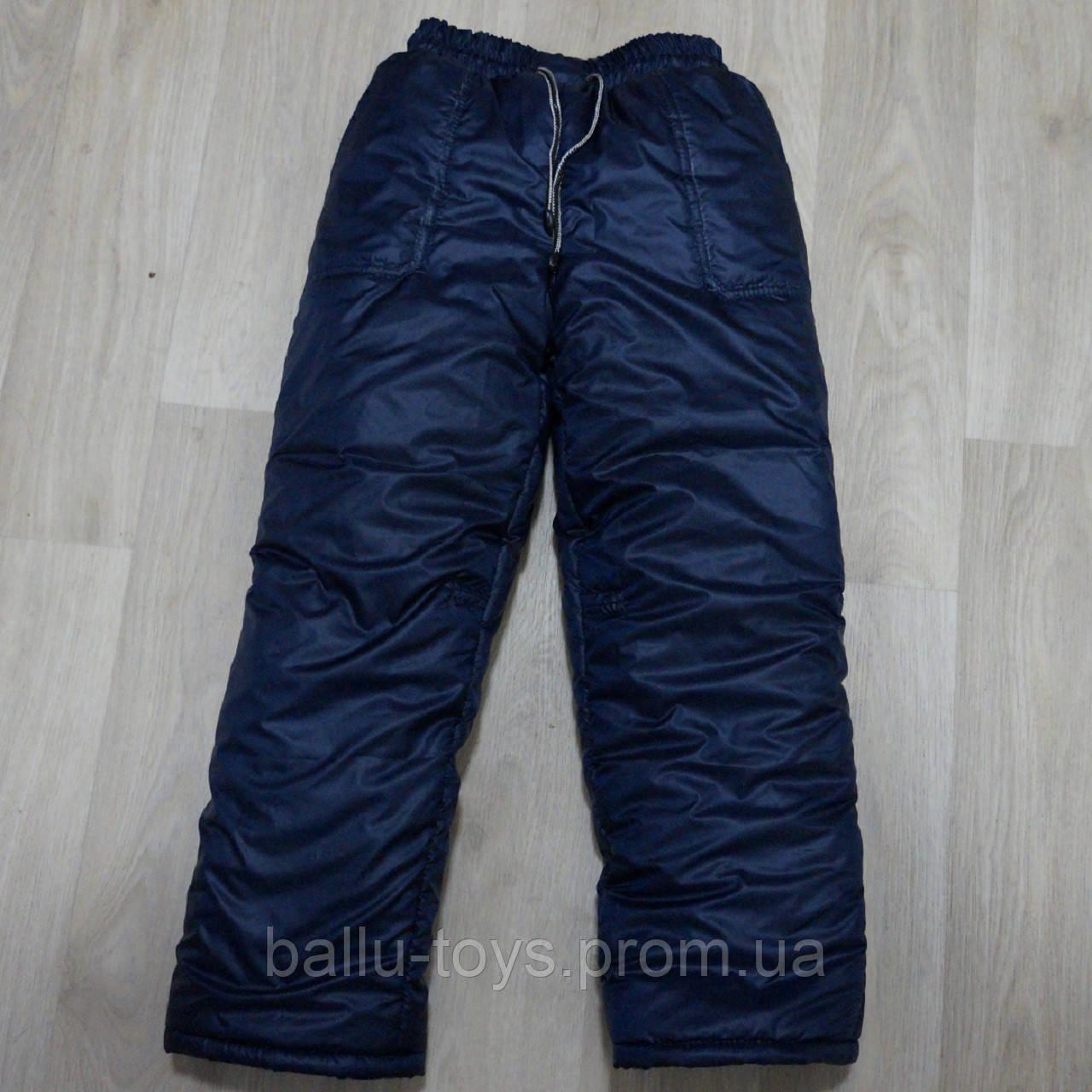 Детские зимние штаны на флисе на 5-9 лет, фото 1