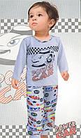 Пижама детская с машинкой