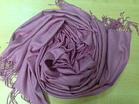 Шарф палантин 189х76 см розовый