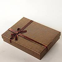 Подарочная коробочка для украшений Fandy большая прямоугольная 12 шт. [16/12/3 см]