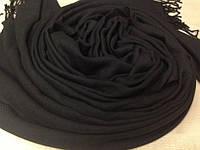 Шарф палантин 189х76 см черный